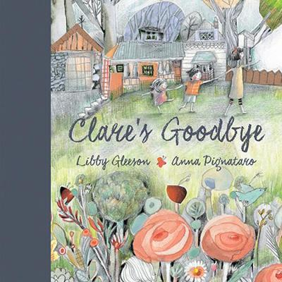 Clare's Goodbye book