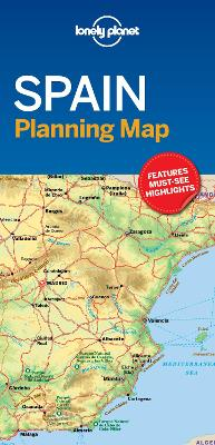 Lonely Planet Spain Planning Map by Lonely Planet