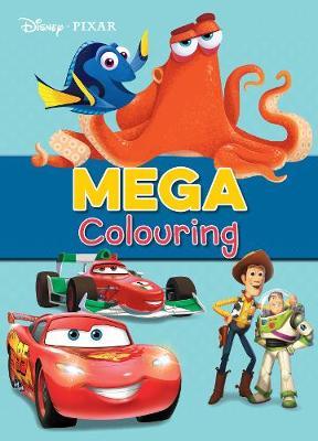 Disney Pixar Mega Colouring by Parragon Books Ltd