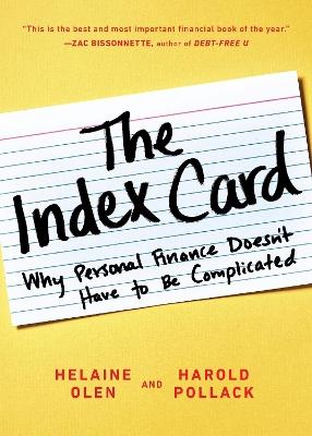 Index Card book