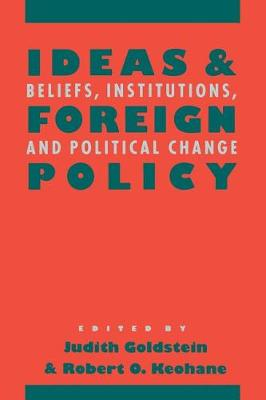 Ideas and Foreign Policy book