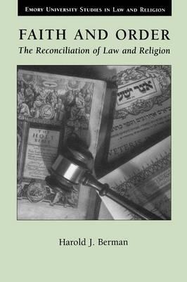 Faith and Order book