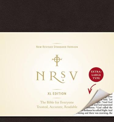 NRSV XL Edition (black) by Harper Bibles