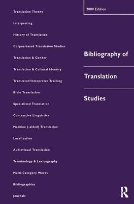 Bibliography of Translation Studies: 2000 book
