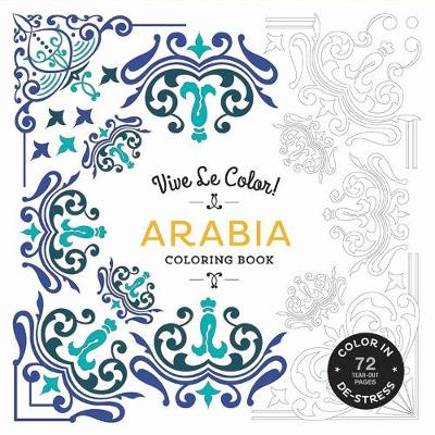 Arabia (Coloring Book) by Abrams Noterie