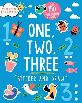 One, Two, Three Sticker and Draw by Susan Fairbrother