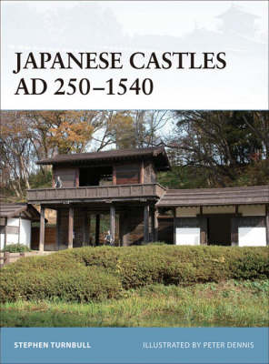 Japanese Castles AD 250-540 by Stephen Turnbull