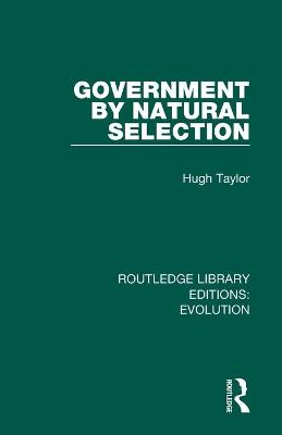 Government by Natural Selection book