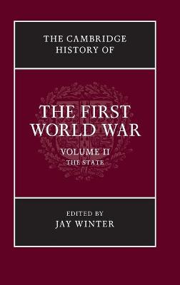 Cambridge History of the First World War book