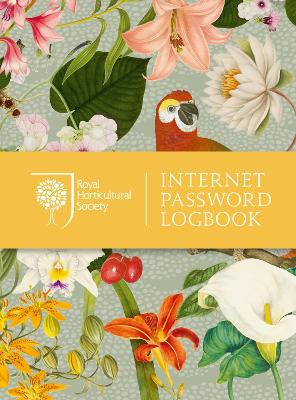 RHS Internet Password Logbook by Royal Horticultural Society