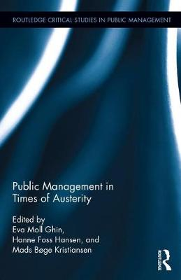 Public Management in Times of Austerity book
