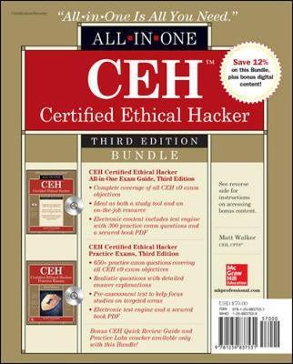 CEH Certified Ethical Hacker Bundle, Third Edition by Matt Walker