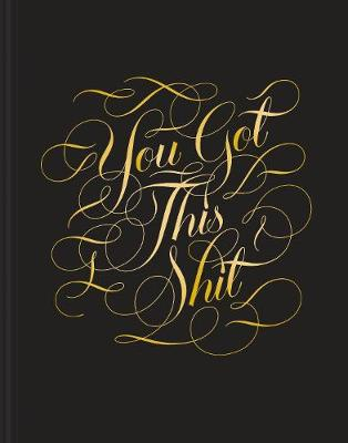 You Got this Shit Journal book