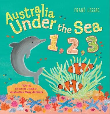 Australia Under the Sea 1 2 3 book