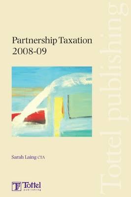 Partnership Taxation: 2008-2009 book