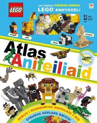 Cyfres Lego: Atlas Anifeiliaid by Rona Skene