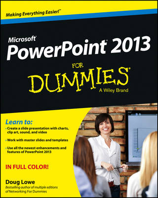 PowerPoint 2013 for Dummies book