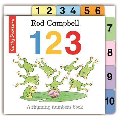 123 by Rod Campbell