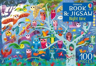 Usborne Book and Jigsaw Night Time by Kirsteen Robson