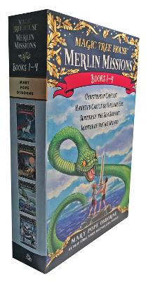Magic Tree House Merlin Mission 1-4 Boxed Set by Mary Pope Osborne