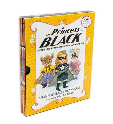 The Princess in Black: Three Monster-Battling Adventures by Shannon Hale