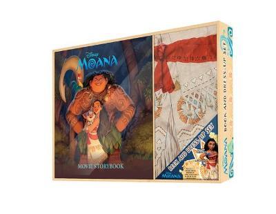 Moana Book & Dress-Up Box Set book