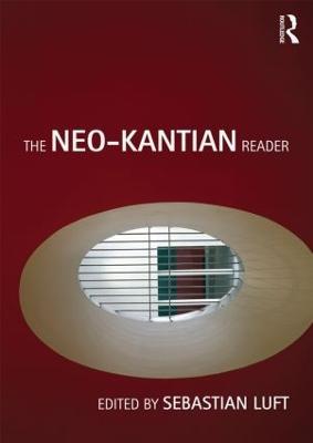 Neo-Kantian Reader book