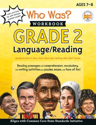 Who Was? Workbook: Grade 2 Language/Reading by Who HQ