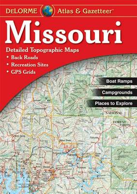 Missouri - Delorme 3rd by Rand McNally