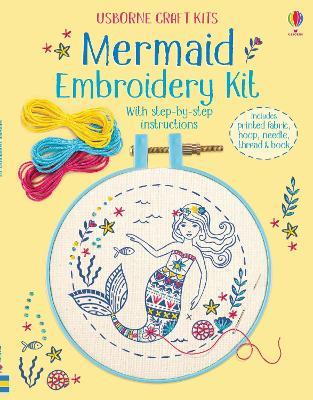 Embroidery Kit: Mermaid book