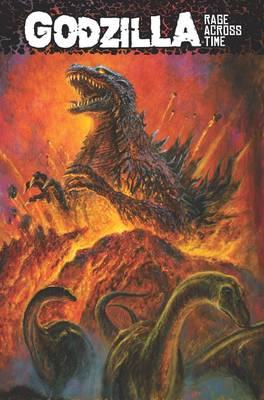 Godzilla: Rage Across Time by Jeremy Robinson