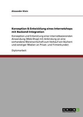 Konzeption & Entwicklung Eines Internetshops Mit Backend-Integration by Alexander Klein
