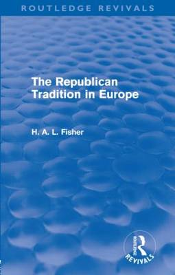 Republican Tradition in Europe book