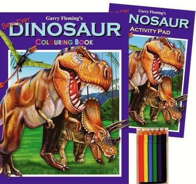 Garry Fleming's Dinosaurs Activity Pack by Garry Fleming
