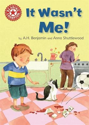 Reading Champion: It Wasn't Me! by A.H. Benjamin