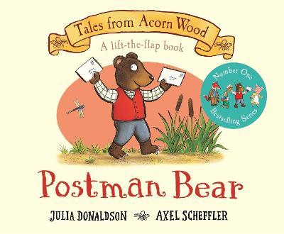 Postman Bear: 20th Anniversary Edition by Julia Donaldson