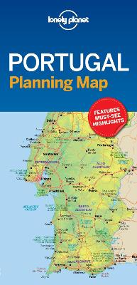Lonely Planet Portugal Planning Map by Lonely Planet