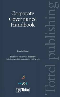 Corporate Governance Handbook book