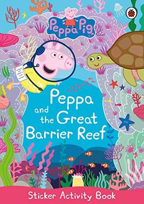Peppa Pig: Peppa and the Great Barrier Reef Sticker Activity book