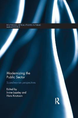 Modernizing the Public Sector: Scandinavian Perspectives book
