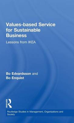 Values-based Service for Sustainable Business by Bo Edvardsson