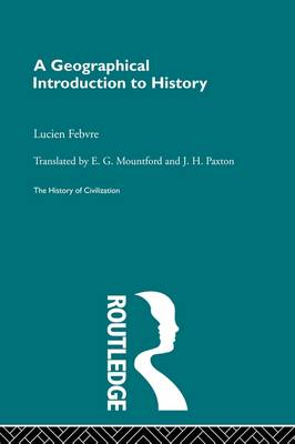 Geographical Introduction to History book