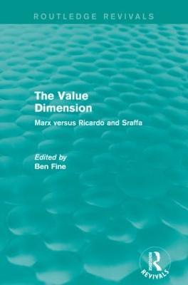 Value Dimension book