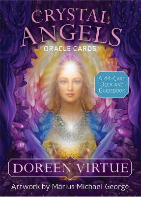 Crystal Angels Oracle Cards: A 44-Card Deck and Guidebook by Doreen Virtue