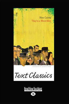 They're a Weird Mob: Text Classics by Nino Culotta