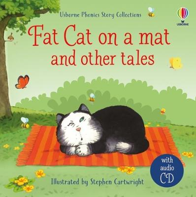 Fat cat on a mat and other tales with CD book