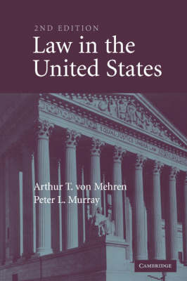 Law in the United States by Arthur T. von Mehren