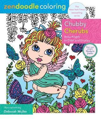 Zendoodle Coloring: Chubby Cherubs by Deborah Muller