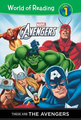 These Are Avengers book