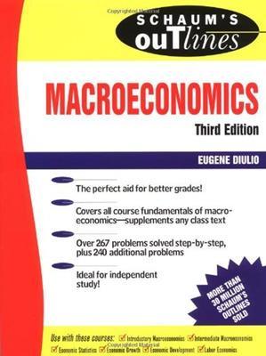 Schaum's Outline of Macroeconomics by Eugene Diulio